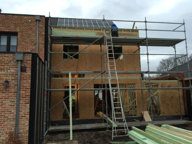 12/01/2015 montage houtskeletbouw