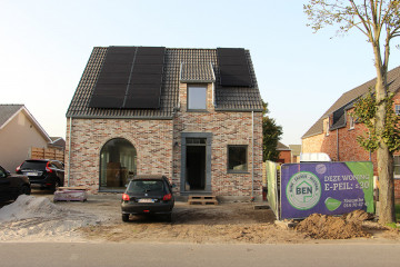 Oplevering fam. Geudens