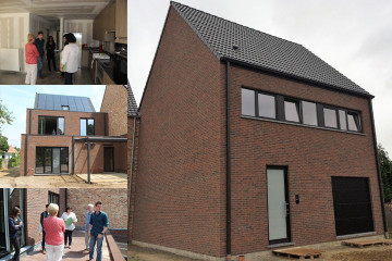 Oplevering fam. Michils